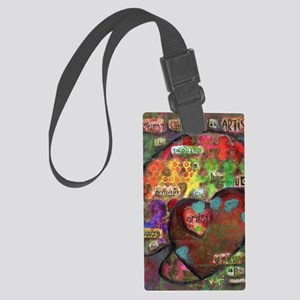 Every Child is an Artist Large Luggage Tag
