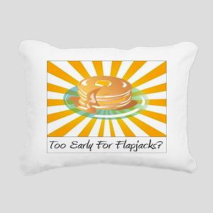 flapjacks Rectangular Canvas Pillow