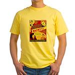 Dude Madness Yellow T-Shirt
