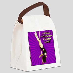 sq1-purple-fallenangel Canvas Lunch Bag