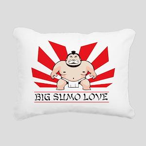 BIGSUMOLOVE Rectangular Canvas Pillow