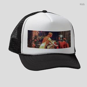 Leighton - God Speed! Kids Trucker hat