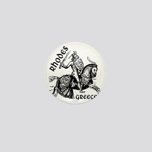 2-rhodes_knight_t_shirt Mini Button