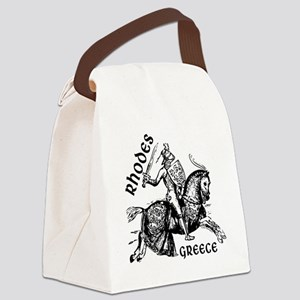 2-rhodes_knight_t_shirt Canvas Lunch Bag