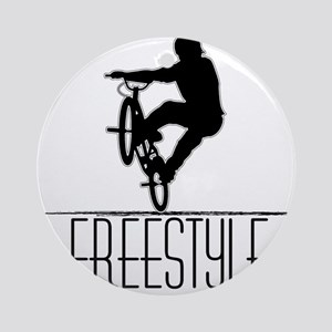 Freestyle BMX!! Ornament (Round)