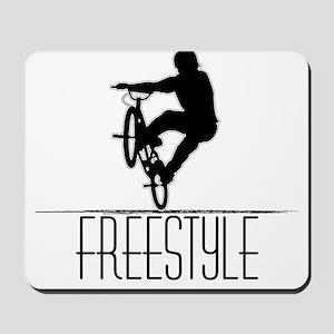 Freestyle BMX!! Mousepad
