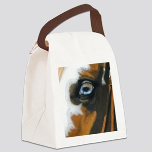 See my soul Canvas Lunch Bag
