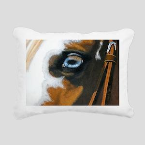 See my soul Rectangular Canvas Pillow