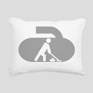 Generic Dark Tee Rectangular Canvas Pillow