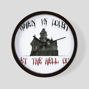 2-GetOut Wall Clock