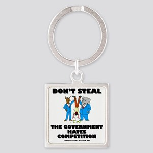 competition light Square Keychain
