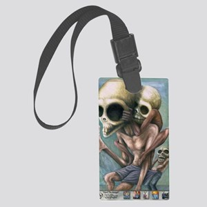 Heed the Monyet Large Luggage Tag