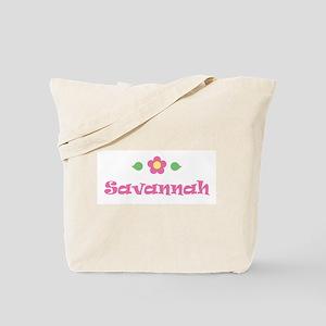 """Pink Daisy - """"Savannah"""" Tote Bag"""