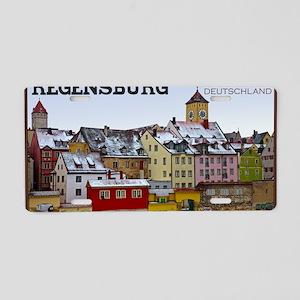 Regensburg - Along the Wate Aluminum License Plate