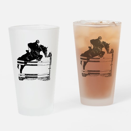 Jumper Drinking Glass