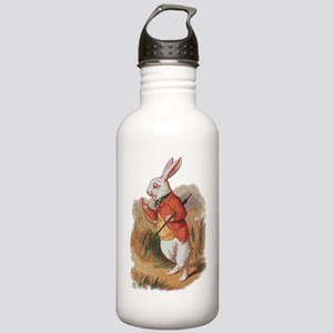 alice white rabbit (2) Stainless Water Bottle 1.0L