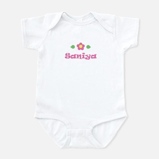 """Pink Daisy - """"Saniya"""" Infant Bodysuit"""