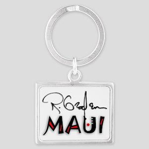 maui-sigRED Landscape Keychain