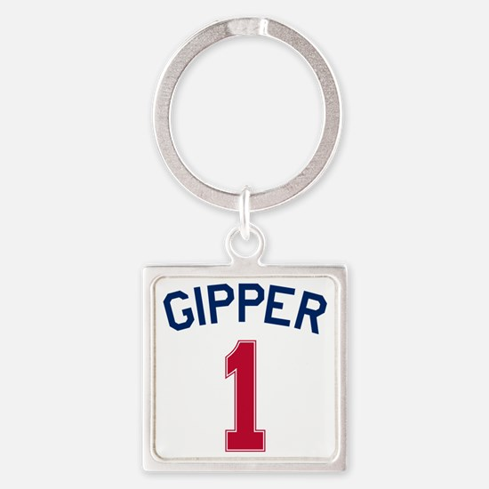 Gipper #1-2 Square Keychain