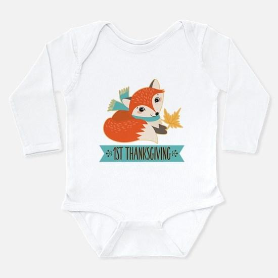 1st Thanksgiving Fox Body Suit