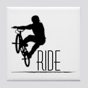 Ride Baby! Tile Coaster