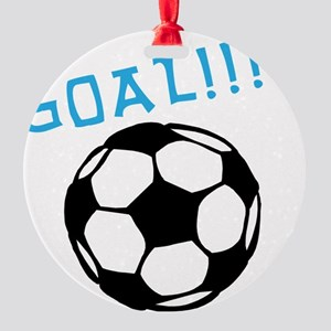 soccer Round Ornament