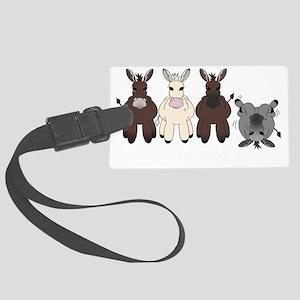 Donkeysdark Large Luggage Tag