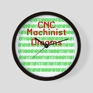 funny cnc machinist Wall Clock