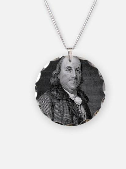 Benjamin Franklin by RW Dods Necklace
