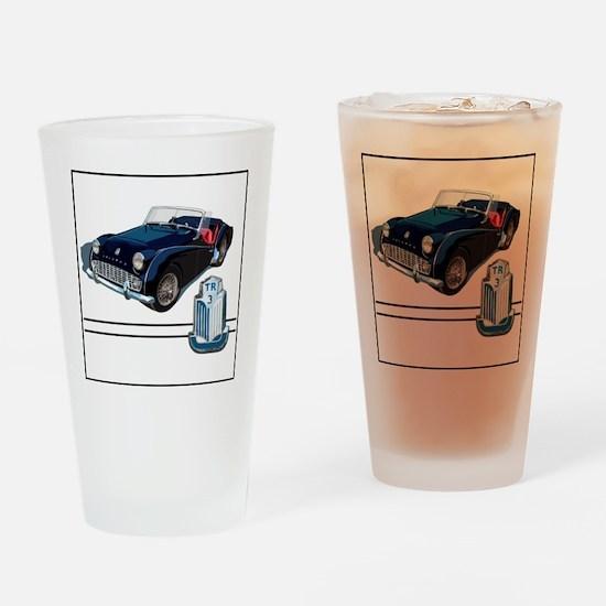TR3-blk-4 Drinking Glass