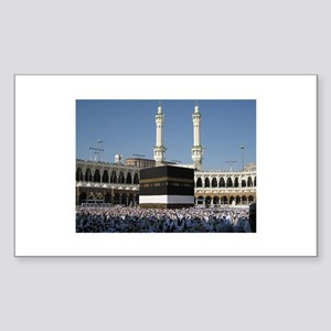 Kaaba Photo Rectangle Sticker