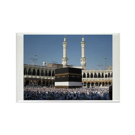 Kaaba Photo Rectangle Magnet