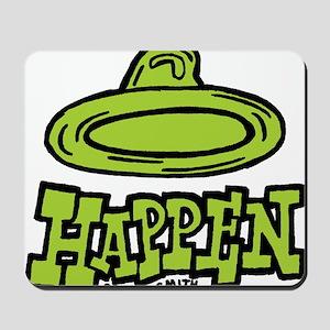 condom_happen_right_green Mousepad