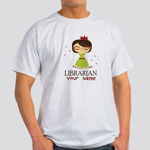 Personalized Library Lady T-Shirt