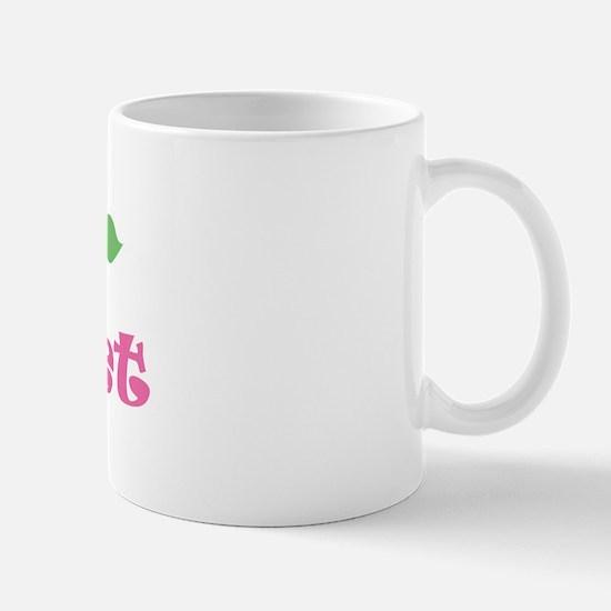 "Pink Daisy - ""Violet"" Mug"