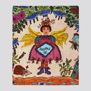 Fairy Of ASPIRE Throw Blanket