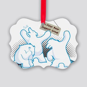 bipolar_bear Picture Ornament