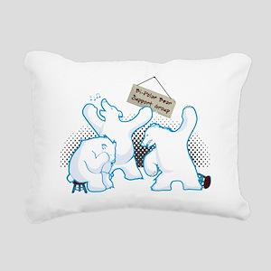 bipolar_bear Rectangular Canvas Pillow
