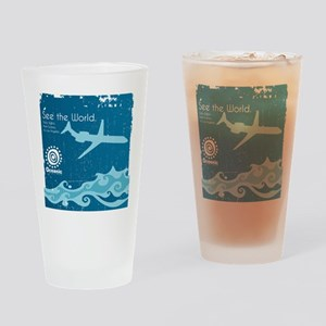 Oceanic Drinking Glass