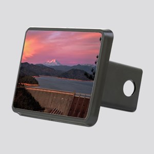 Mt. Shasta at Sunset Rectangular Hitch Cover