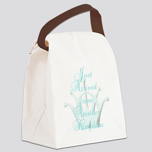 Just Arrived from Another Kingdom Canvas Lunch Bag