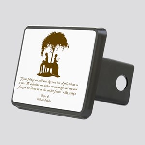 Mr Darcys Love Rectangular Hitch Cover