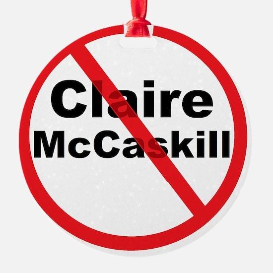 1Claire McCaskill Ornament