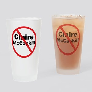 1Claire McCaskill Drinking Glass