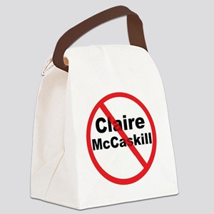 1Claire McCaskill Canvas Lunch Bag