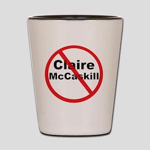 1Claire McCaskill Shot Glass