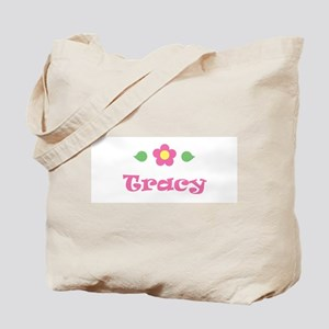 """Pink Daisy - """"Tracy"""" Tote Bag"""