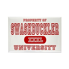 Swashbuckler University Rectangle Magnet (10 pack)