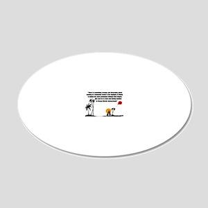 Dahmerland_Mug 20x12 Oval Wall Decal