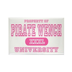 Pirate Wench University Rectangle Magnet (10 pack)